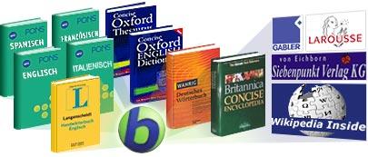 Babylon - Software für Übersetzungen, Wörterbücher