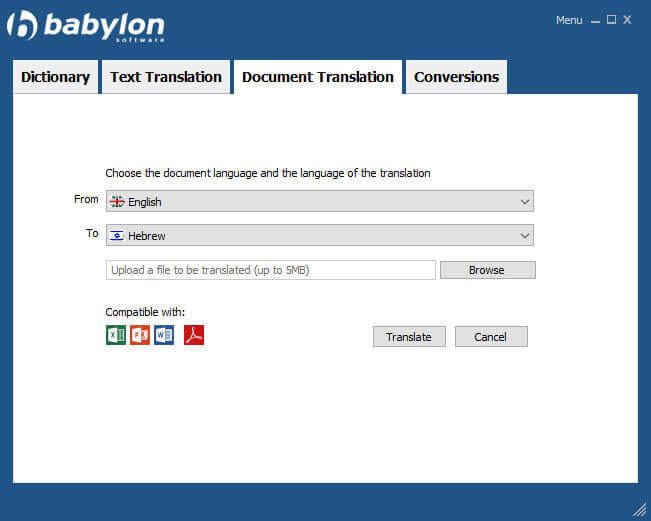 Dokumentübersetzung